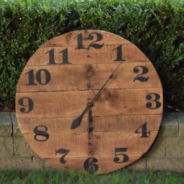Farm House Clock