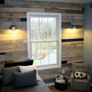 Pallet wall 1