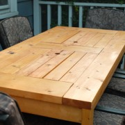 Table with built in cooler 1 f